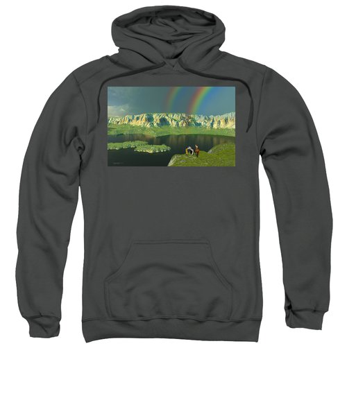 Redemption For An Angry Sky Sweatshirt