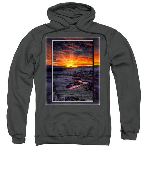 Redwater River Sunrise Sweatshirt