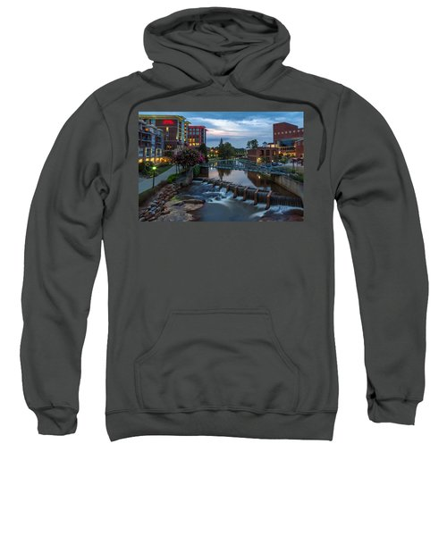 Reedy River View At Sunset Sweatshirt