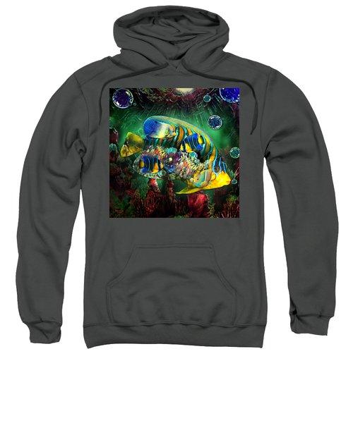 Reef Fish Fantasy Art Sweatshirt