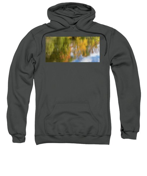 Reflection Of Fall #1, Abstract Sweatshirt