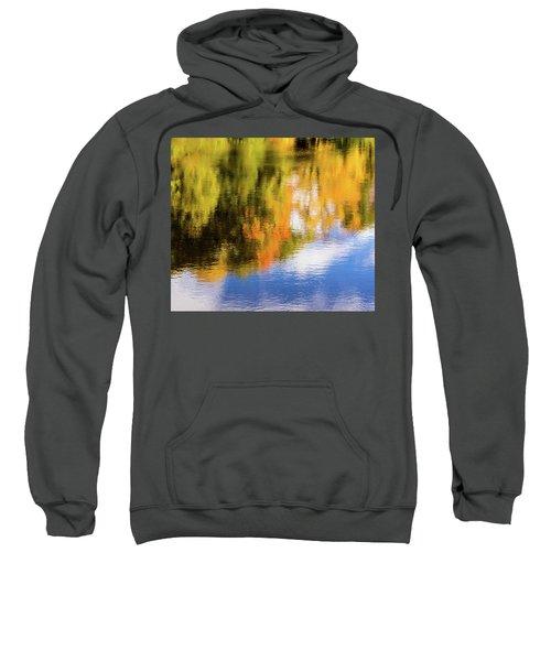 Reflection Of Fall #2, Abstract Sweatshirt