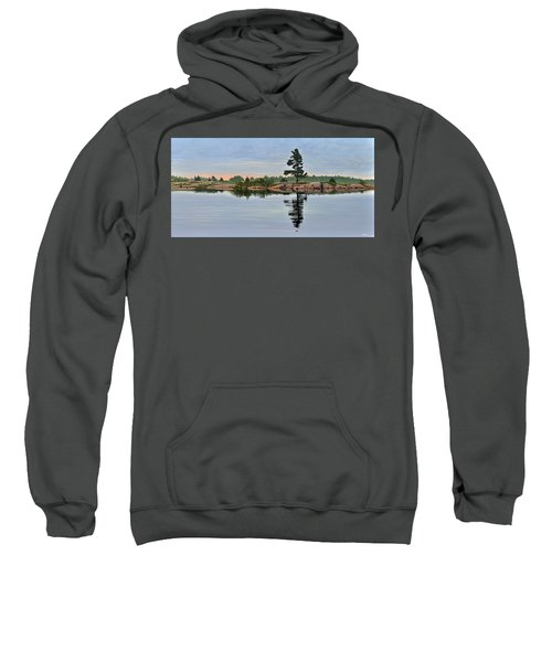 Reflection On The Bay Sweatshirt