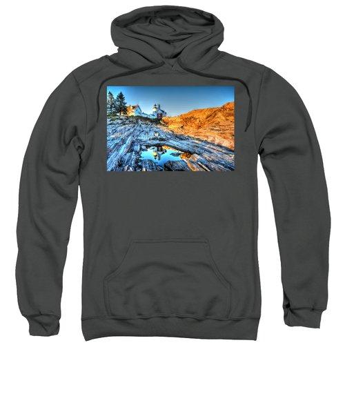 Reflections At Pemaquid Point Sweatshirt