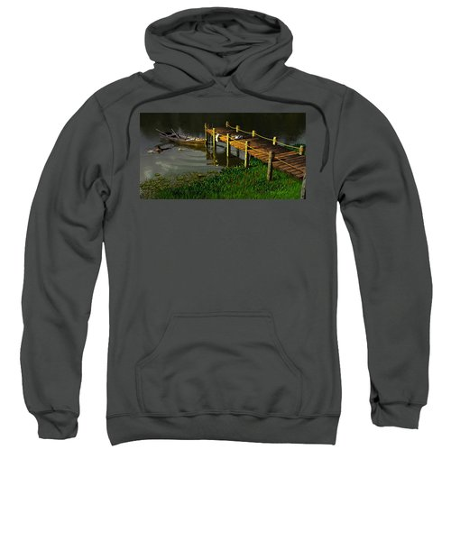 Reflections In A Restless Pond Sweatshirt