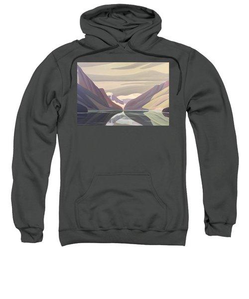 Reflections In Lake Louise Sweatshirt
