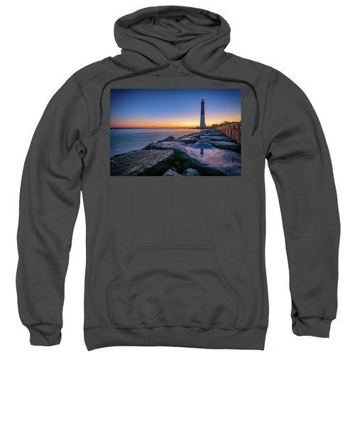 Reflections Of Barnegat Light Sweatshirt