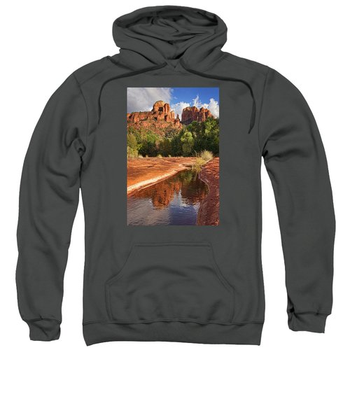 Reflections Of Cathedral Rock Sweatshirt