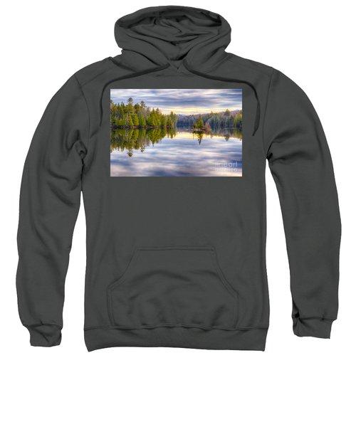 Reflections Of Lake Abanakee Sweatshirt