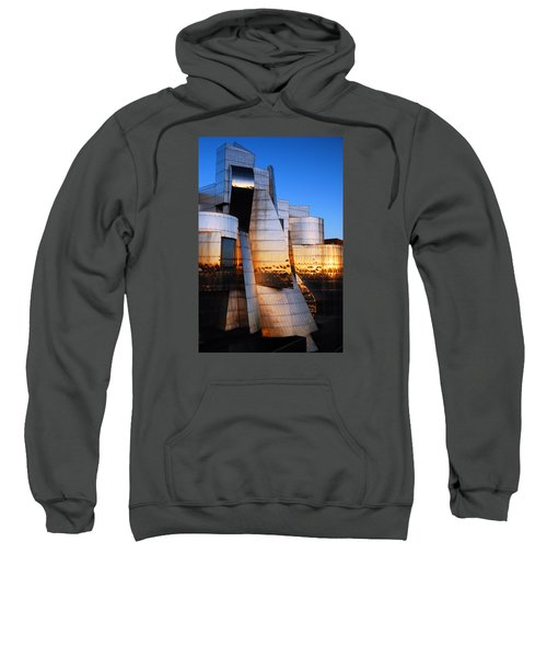 Reflections Of Sunset Sweatshirt by James Kirkikis