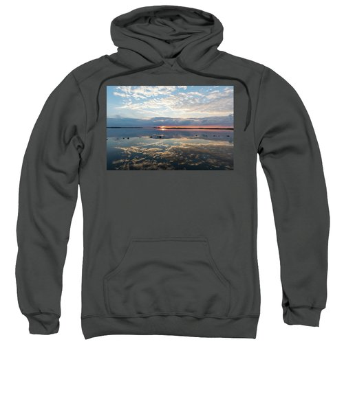 Reflections Over Back Bay Sweatshirt