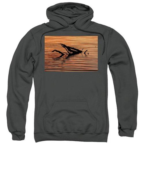 Reflective Abstract Sweatshirt
