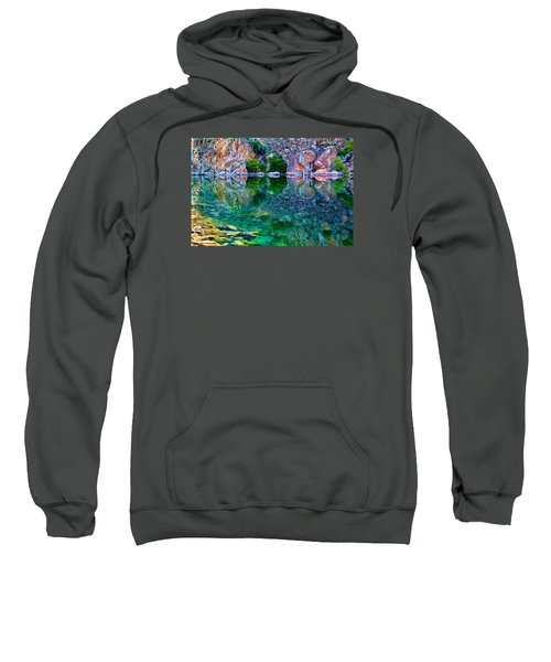 Reflective Pool Sweatshirt