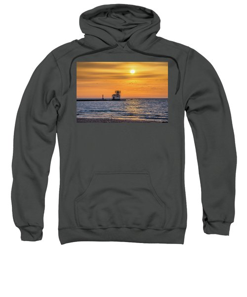 Sweatshirt featuring the photograph Rehabilitation Rising by Bill Pevlor