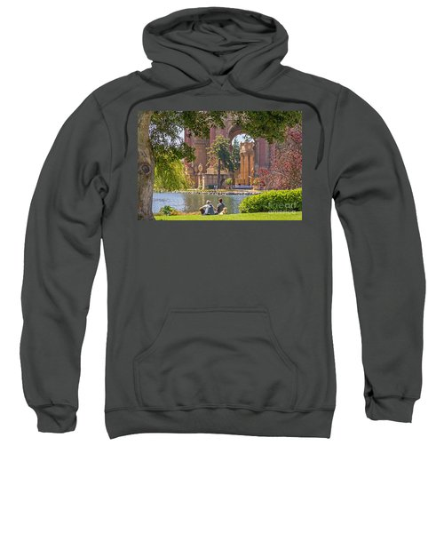 Relaxing At The Palace Sweatshirt