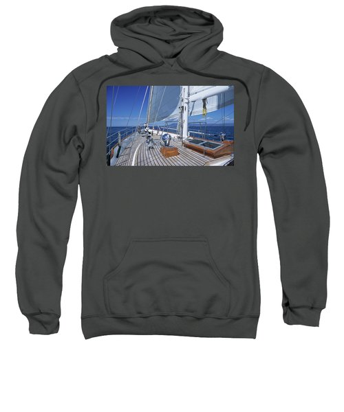 Relaxing On Deck Sweatshirt