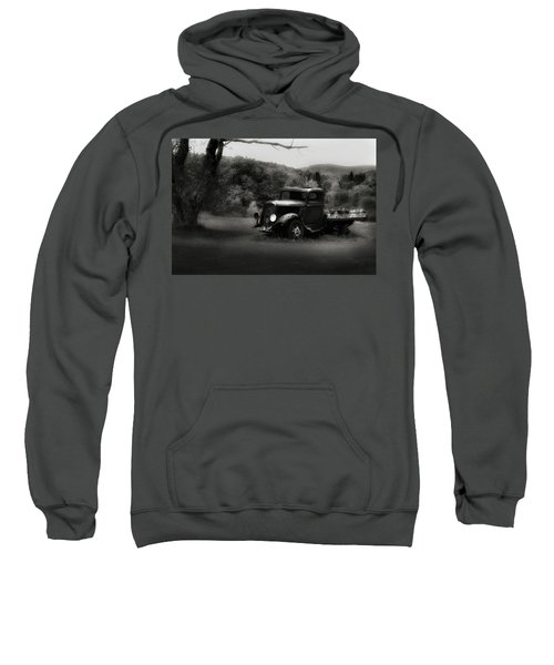 Sweatshirt featuring the photograph Relic Truck by Bill Wakeley
