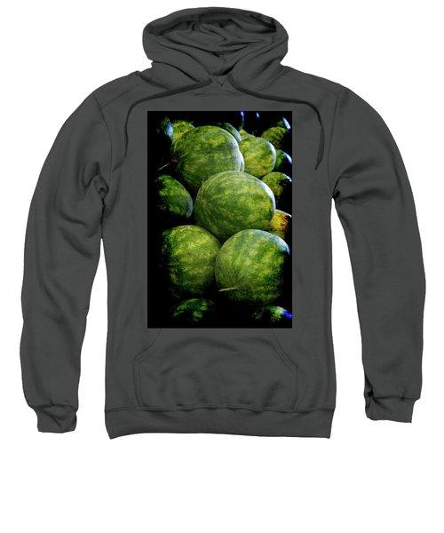 Renaissance Green Watermelon Sweatshirt