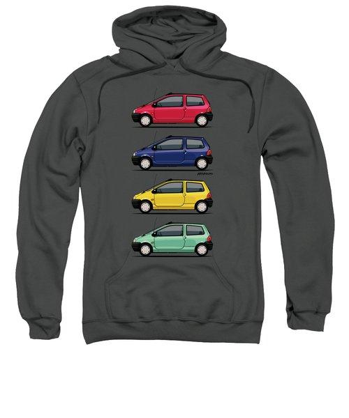 Renault Twingo 90s Colors Quartet Sweatshirt