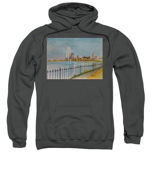 Reservoir In Central Park Sweatshirt