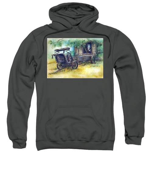 Retired At Last Sweatshirt