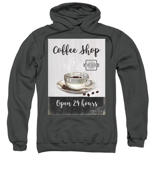Retro Coffee Shop 1 Sweatshirt