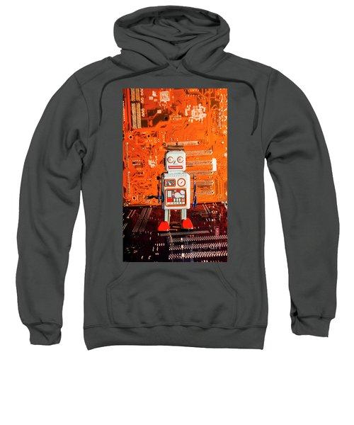 Retro Robotic Nostalgia Sweatshirt