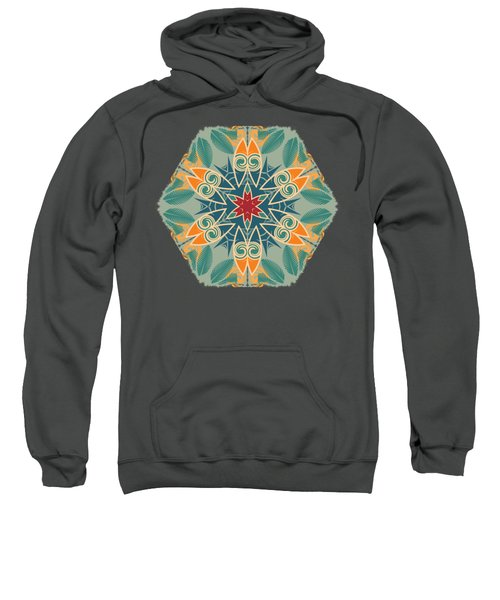 Retro Surfboard Woodcut Sweatshirt