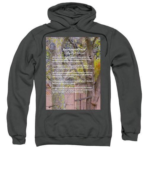 Reverence Of Trees Sweatshirt