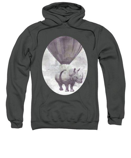 Rhino On Clouds Sweatshirt