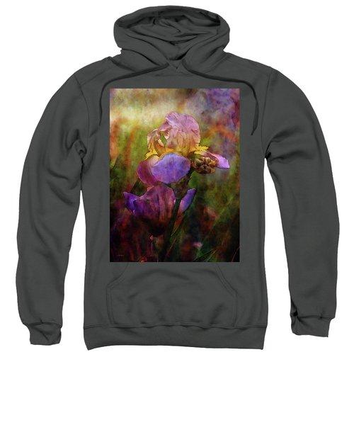 Rich Purple Irises 0056 Idp_22 Sweatshirt