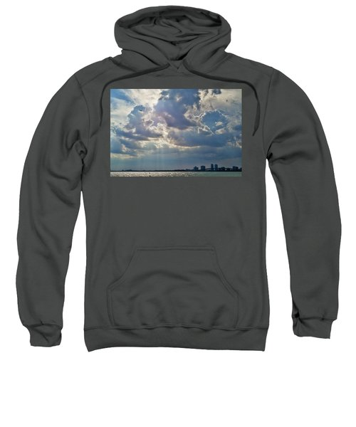 Riding In The Storm Sweatshirt by Camille Lopez