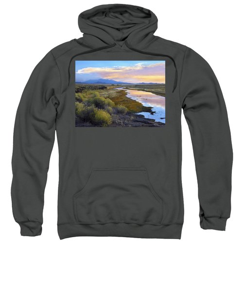 Rio Grande And The Sangre De Cristo Sweatshirt