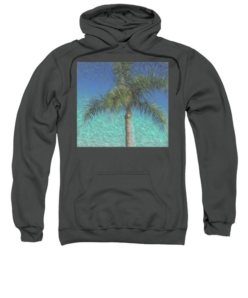 Rippled Palm Sweatshirt
