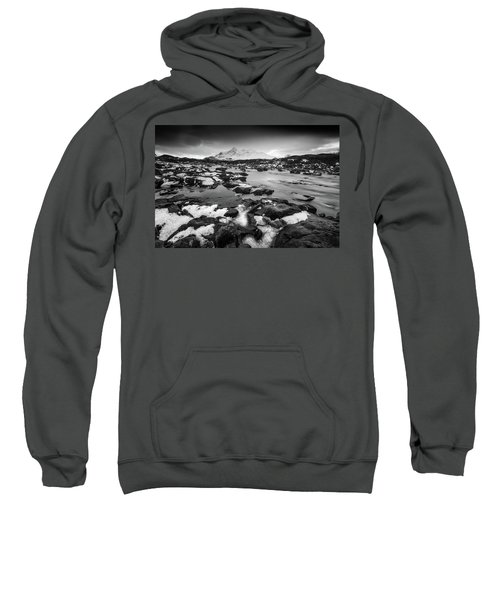 River Sligachan And Black Cuillin, Isle Of Skye Sweatshirt