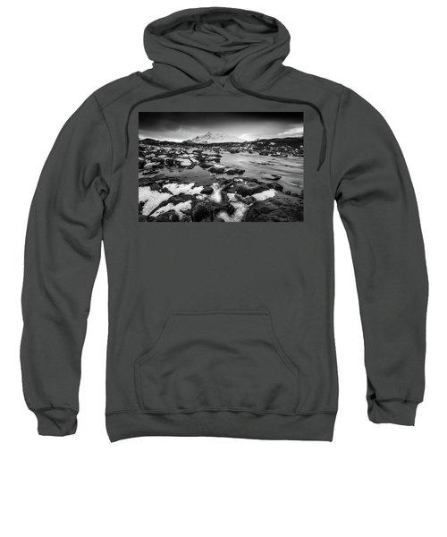River Sligachan And Black Cuillin, Isle Of Skye Sweatshirt
