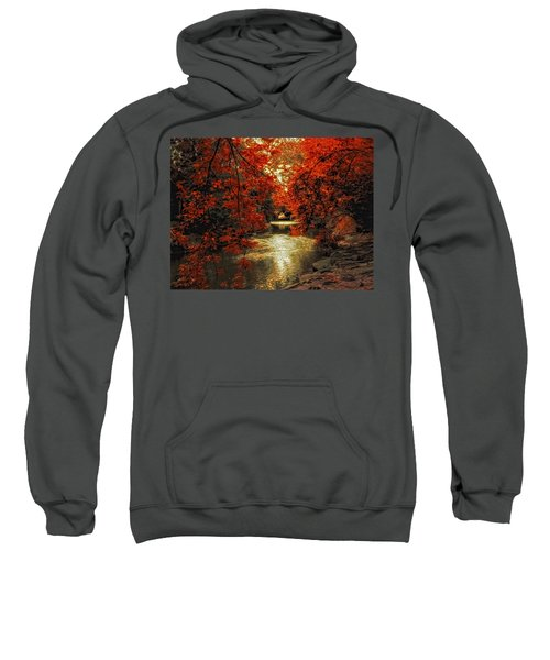Riverbank Red Sweatshirt
