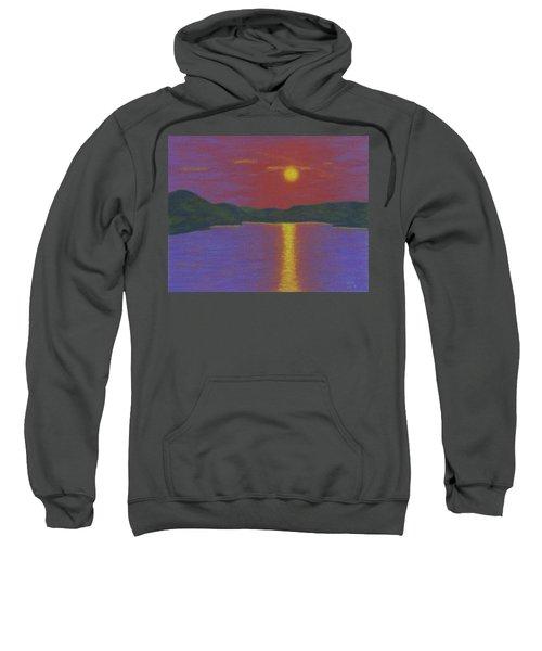 Riverboat Sunset Sweatshirt