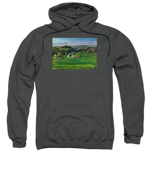 Road In The Mountains Sweatshirt