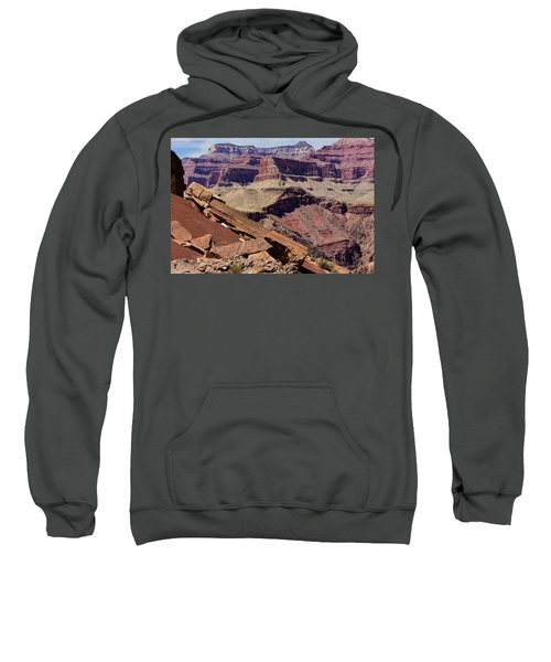 Rock Formations In The Grand Canyon Sweatshirt