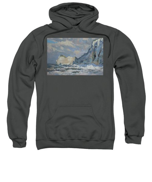 Rock Of Amont Etretat Sweatshirt
