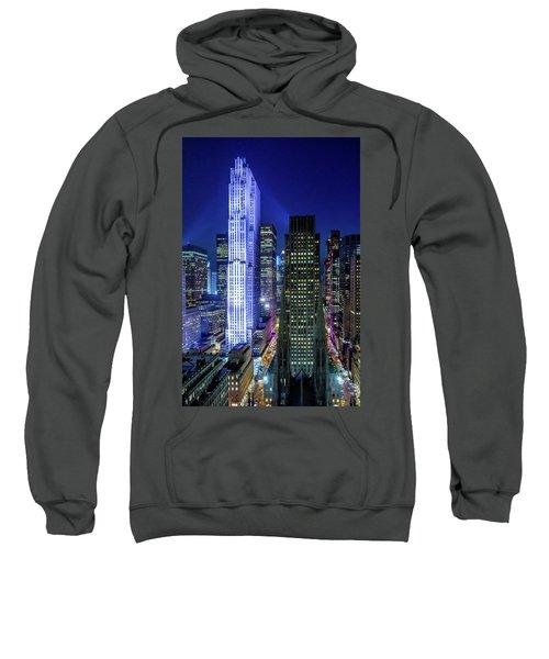 Rockefeller At Night Sweatshirt