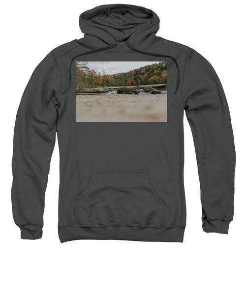 Rocks On Cumberland River Sweatshirt