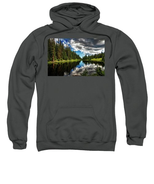 Rocky Mountain Lake Irene Sweatshirt