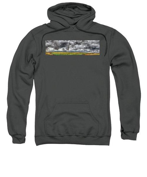 Rocky Mountain Panorama Hdr Sweatshirt