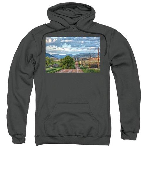 Rollercoaster Country Road Sweatshirt