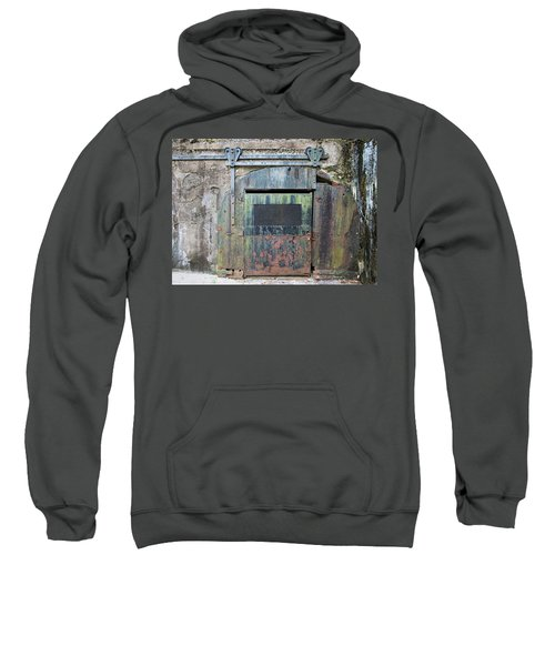Rolling Door To The Bunker Sweatshirt