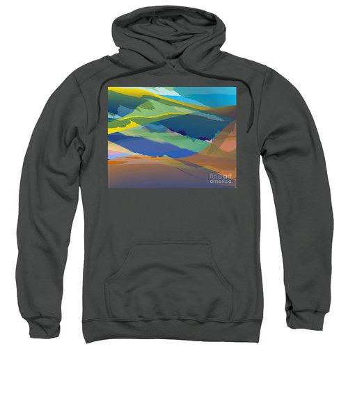Rolling Hills Landscape Sweatshirt