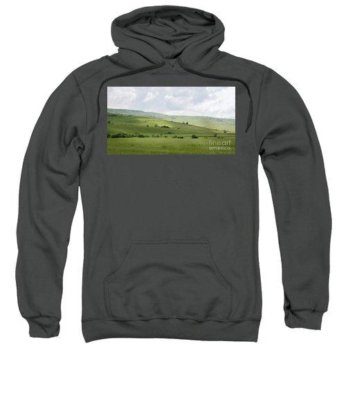 Rolling Landscape, Romania Sweatshirt