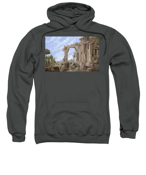 Roman Ruins Sweatshirt